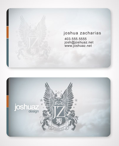 joshuaz business card